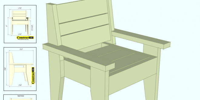 chair plans outdoor chair plans easy to build free pdf