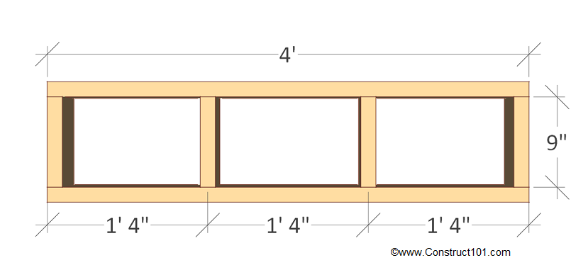 chicken coop nest box plans back frame