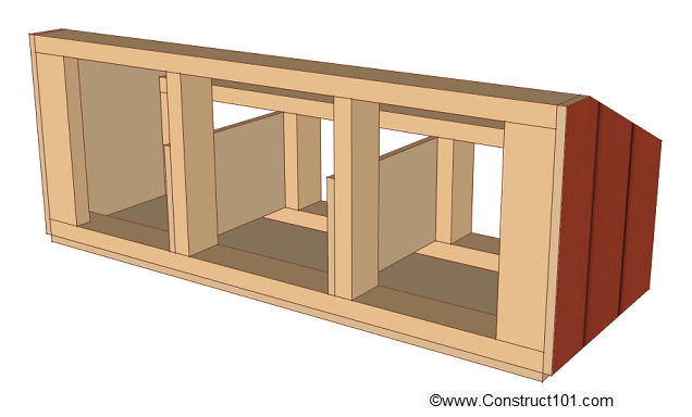 chicken coop nest box plans dividers
