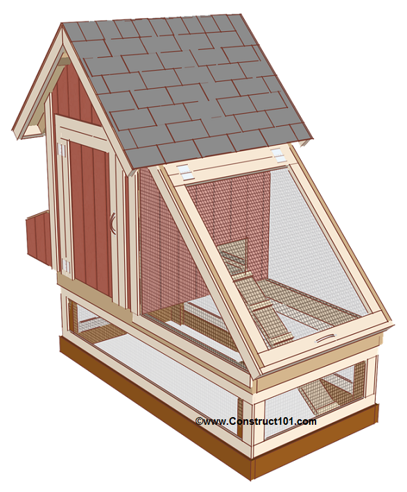 chicken coop plans design 1 shingles roost