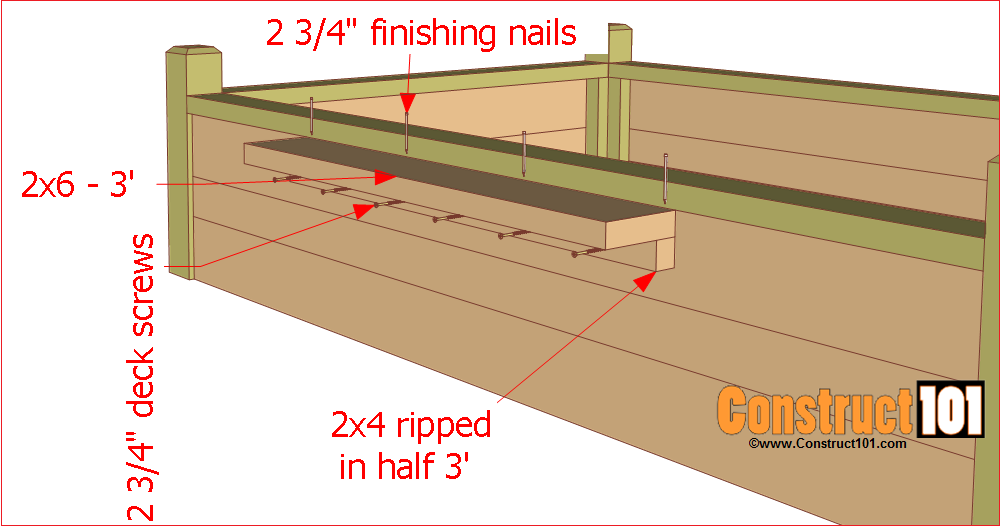 raised garden bed plans building the bench