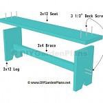 board-bench-plans