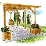 pergola-plans-with-planter