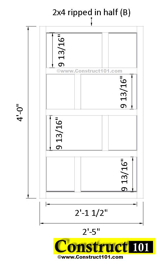 arbor plans side (B)