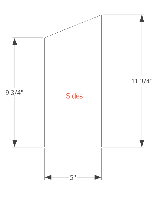 bird house plans step 2