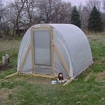 greenhouse plans 2x4's and cattle panel