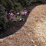 DIY gravel pathway walkway