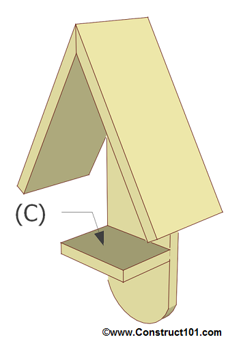 Simple Bird Feeder Plans - Construct101